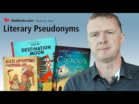 Literary Pseudonyms and JK Rowling