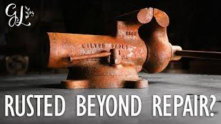 SEVERE RUST!! Wilton Vise Restoration