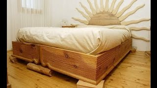 видео кровати из массива