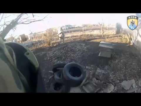 """War Ukraine: Полк """"Азов"""" на передовой Shirokino / last news, Donetsk, Mariupol, АТО, ВСУ"""