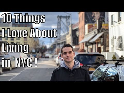 Top 10 Things I LOVE About Living In New York City !