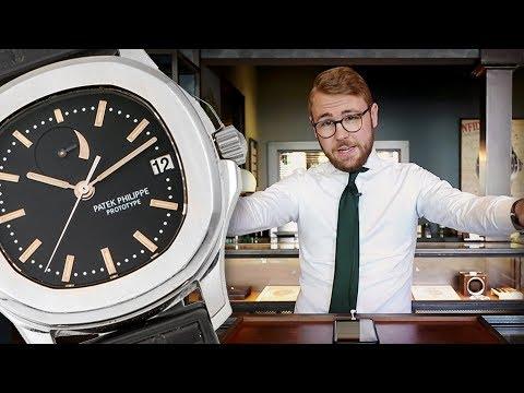 Zeldzame Patek &39;Prototype&39; Aquanaut verkocht voor €350000 - Top 10 Geneve veilingresultaten