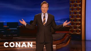 CONAN Monologue 01/16/14