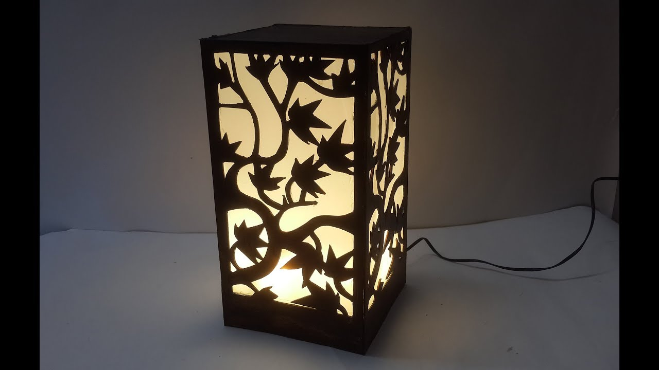 waste moblie charger for lampshade learn diy lampshade best out of waste - Diy Lampshade