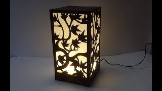 OMG! Waste Moblie Charger For Lampshade! Learn DIY Lampshade | Best Out Of Waste