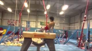 Jamie Lewis gymnastics montage