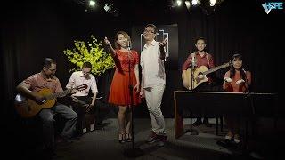 VHOPE | Xuân Đến Bên Nhà - Kim Nguyên, Thanh Trúc, Khánh Linh & Phương Lý | CHẠM - Live Acoustic