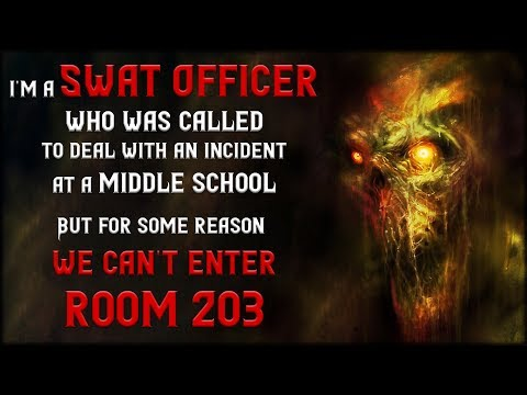 """I'm a Swat Officer"" (parts 1 & 2 ) Creepypasta 