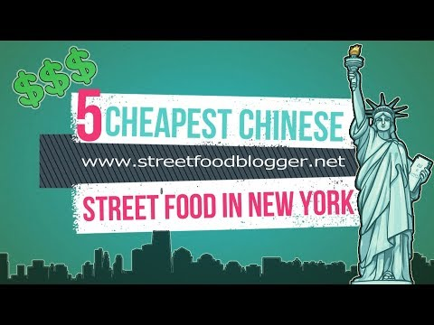 Cheapest!! Chinese Street Food In New York