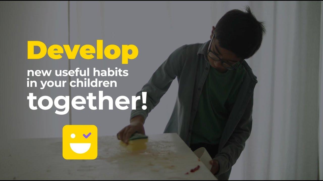 KidHab app presentation💥  | Develop new useful habits in your children together 😍