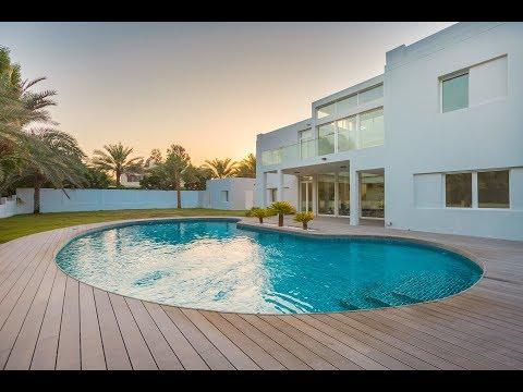 Stunning Contemporary Villa, Emirates Hills, Dubai, United Arab Emirates