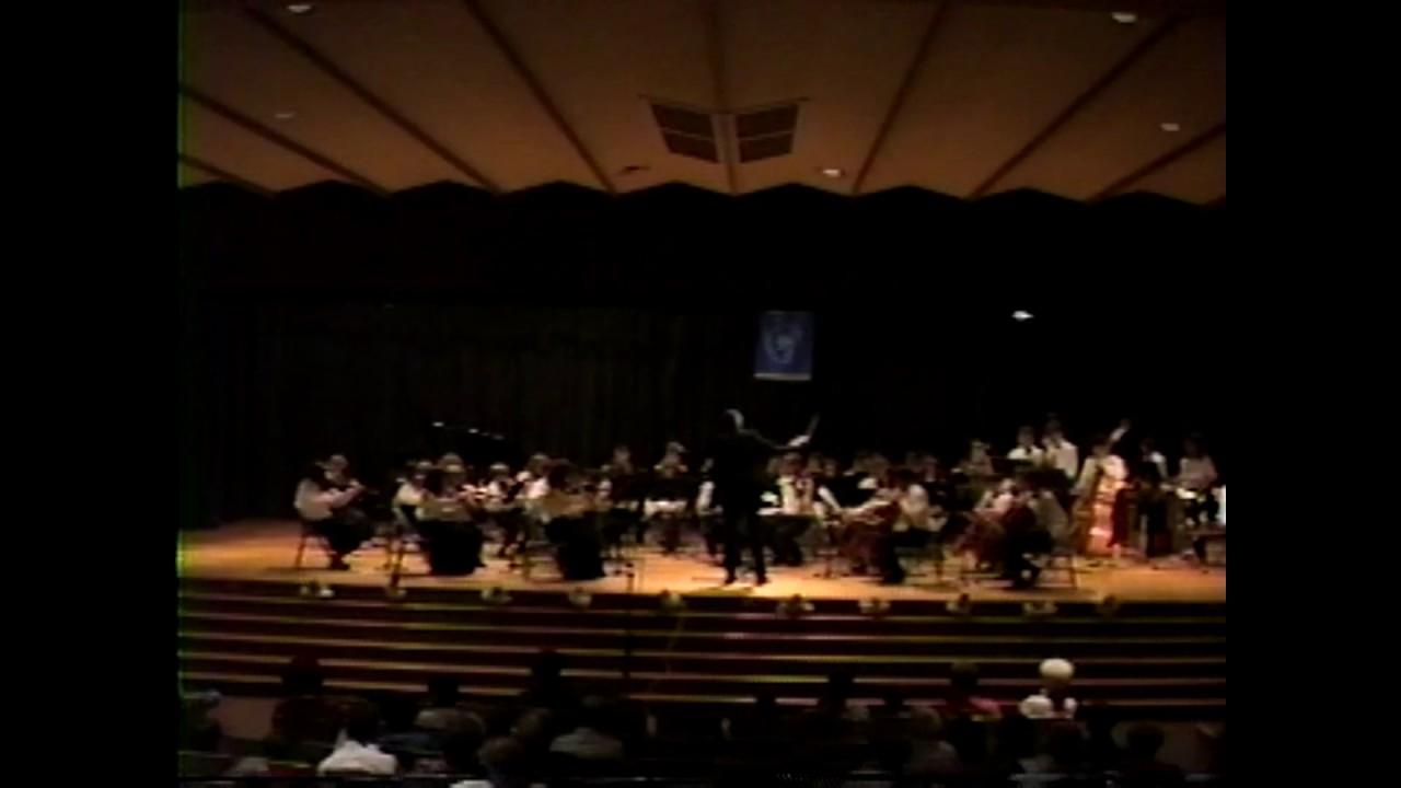 Adirondack Youth Orchestra  5-12-91