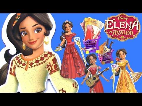 Куклы Принцессы Диснея Elen of Avalor ВЕЧЕРИНКА С ПЕРЕОДЕВАНИЕМ! Видео для Детей | Одевалки