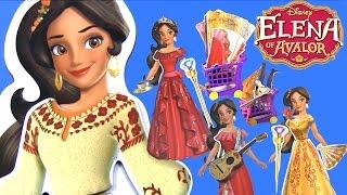 Куклы Принцессы Диснея Elen of Avalor ВЕЧЕРИНКА С ПЕРЕОДЕВАНИЕМ! Видео для Детей   Одевалки