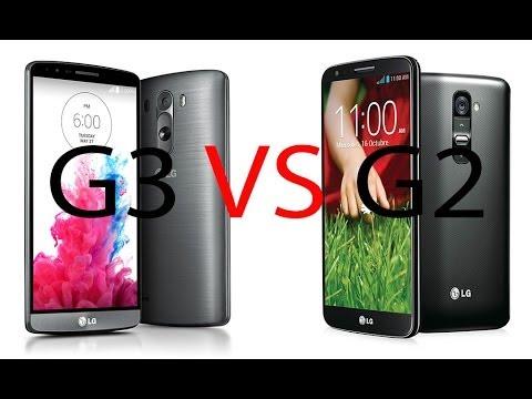 LG G3 vs LG G2, comparativa (en español)