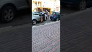 На ул. Самойленко столкнулись автомобили  в Керчи
