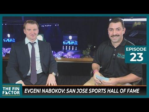Evgeni Nabokov: San Jose Sports Hall of Fame (Ep 23)