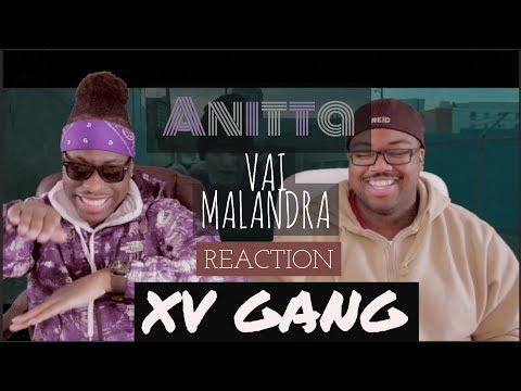 Anitta Mc Zaac Maejor ft  Tropkillaz & DJ Yuri Martins  - Vai Malandra REACTION