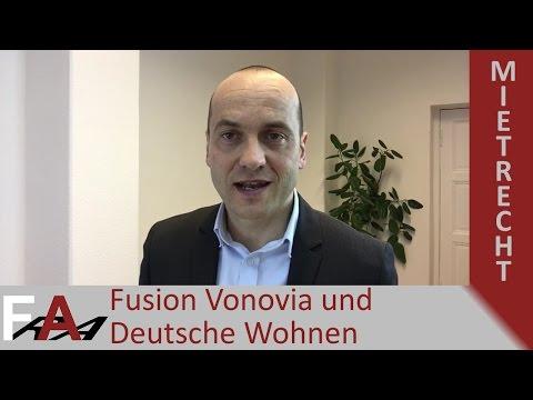 Fusion Vonovia und Deutsche Wohnen? Mieter aufgepasst  | Mietrecht Rechtsanwalt