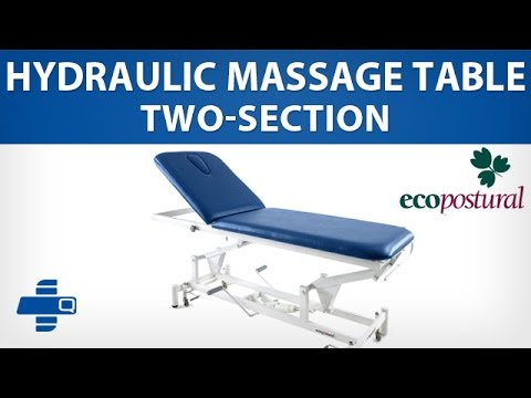 ecopostural twosection hydraulic massage table