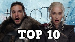 Game of Thrones Season 7 Top 10 First Time Meetings