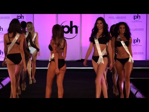 Miss Universe Swimsuit Preliminary Competition | LIVE 11-25-