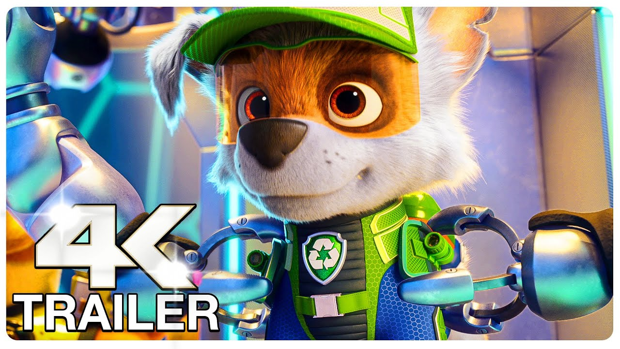 Download PAW PATROL The Movie Trailer (4K ULTRA HD) NEW 2021