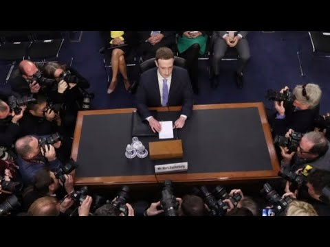 Facebook CEO Mark Zuckerberg faces second day of testimony