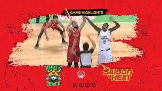 Highlight ABL9 || Away - Game 7: Zhuhai Wolf Warrior vs Saigon Heat 13/12