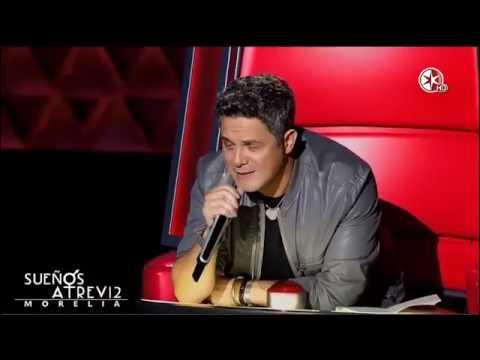 Alejandro sanz hace llorar a Gloria Trevi