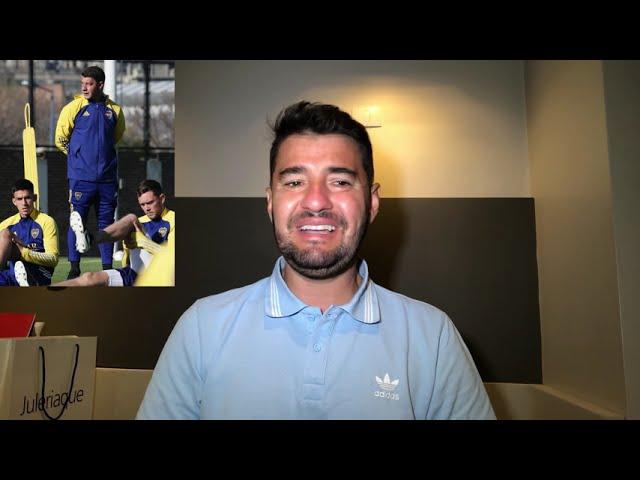 La info de #Boca: Almendra y Barco se sumaron al grupo; Toto Salvio recibirá el alta médica.
