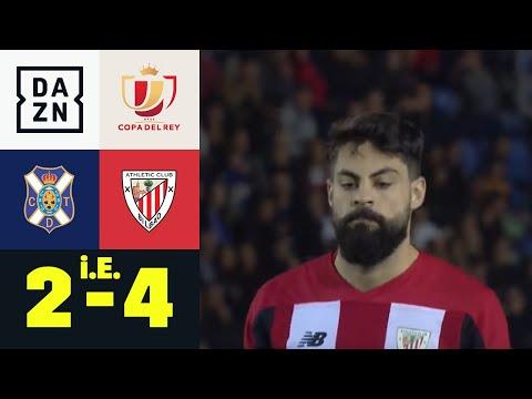Elfer-Wahnsinn! Underdog scheitert denkbar knapp: Teneriffa - Bilbao 5:7 n.E.   Copa del Rey   DAZN