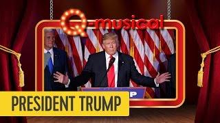 president trump de q musical mattie wietze
