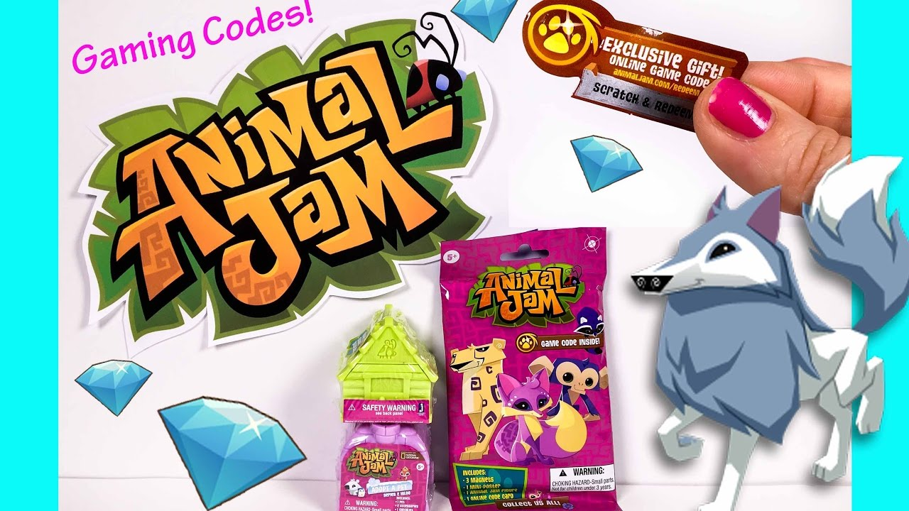 Animal Jam Surprise Toys with FREE GAMING CODES! Adopt A ...