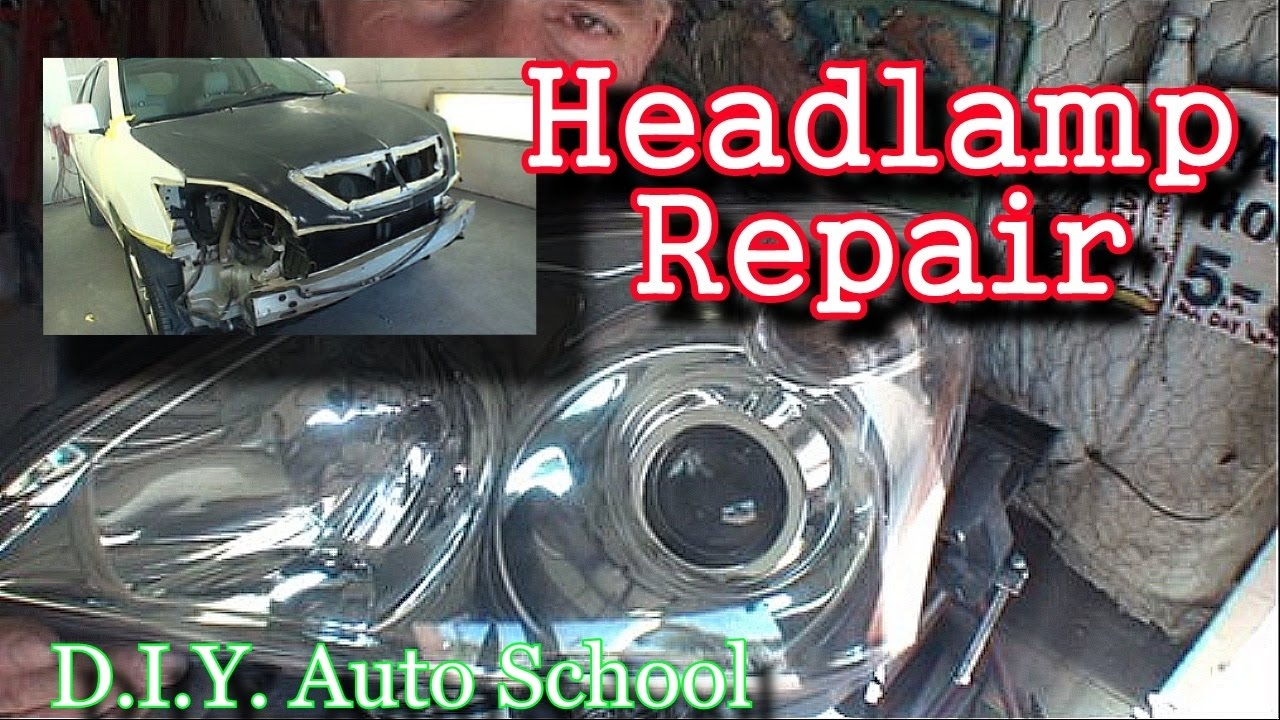 How To Fix A Broken Headlight Automotive Collision Tech Tips And