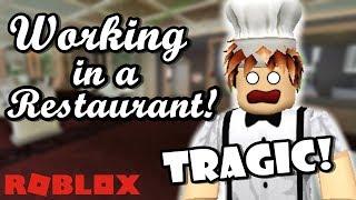 ARBEITEN ALS EIN CHEF!! | Roblox Bloxburg (SO TRAGIC!)