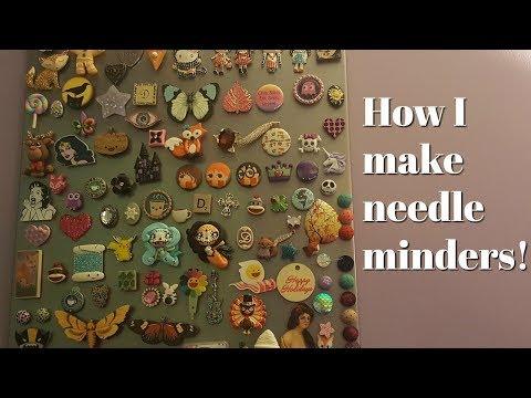 Flosstube #245 How I make needleminders!!