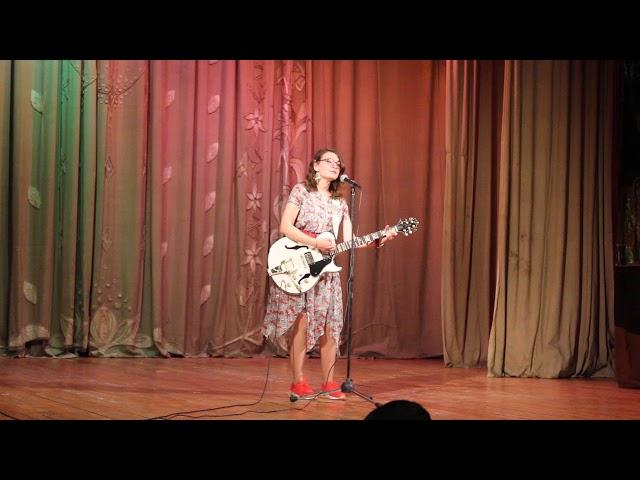 Победила в конкурсе талантов! Мария Пономарёва. Москва (авторская песня)