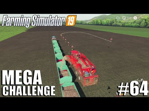 MEGA Equipment Challenge | Timelapse #64 | Farming Simulator 19