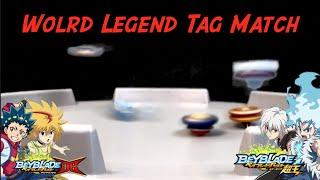 Beyblade Burst DB VS SuperkingㅣWorld Lgend  Free & Valt VS Shu & Luiㅣ월드 레전드 프리&강산 vs 슈&루이ㅣDB vs 슈퍼킹