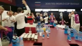 Победная раздевалка сборной России