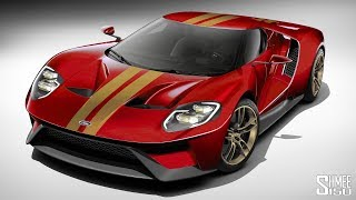This is the Complete Final Spec for My Ford GT!