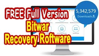 How to Recover Deleted Files on PC, Pen Drive, Memory Card...FREE Software Download...Today Only!