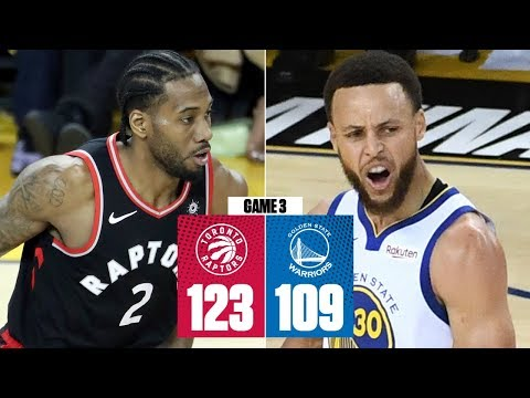 kawhi-leonard,-raptors-thwart-steph-curry's-career-night-to-win-game-3-|-2019-nba-finals-highlights