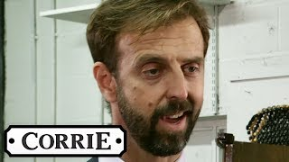 Derek Stands Up to an Enraged Gary | Coronation Street