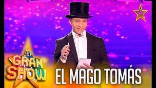 El Mago Tomás prueba su magia
