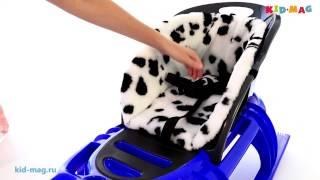 видео Санки детские | Санки коляски купить в Нижнем Новгороде