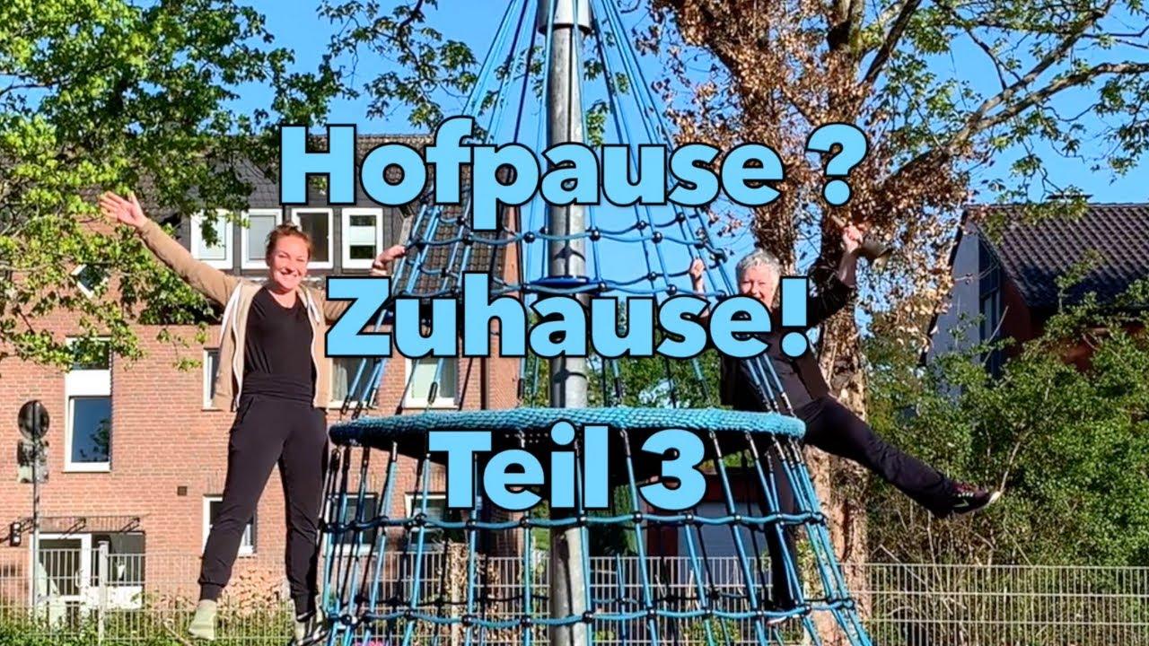 Hofpause Zuhause Teil 3 - Bewegungsideen für die Grundschule