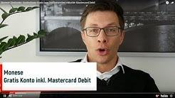 Monese Girokonto - kostenloses Konto aus Großbritannien inklusive Mastercard Debit