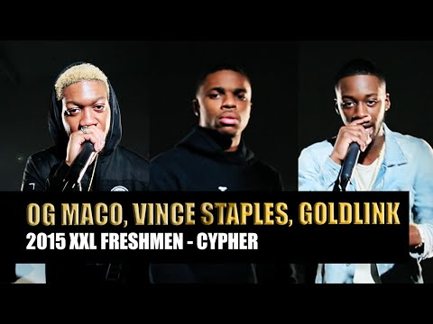 GoldLink, OG Maco and Vince Staples Cypher - 2015 XXL Freshman Part 2